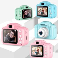 Wholesale Mini Digital SLR Camera Full Color Video Camcorders for Children Kids Baby USB Rechargeable Cam