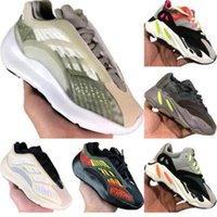 Wholesale sneakers boys orange resale online - Boys Girls Children kanye west s Kids Blush Desert Rat Running Shoes Utility Black Sneaker Sport
