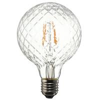 Wholesale edison decor bulb resale online - Vintage Edison Bulb COB LED Light E27 W Pineapple Filament Bulb Pendant Lamp Decor Lighting Warm White AC85 V SY0236