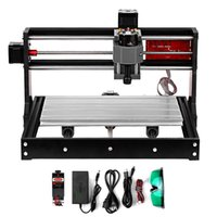 fresadora venda por atacado-CNC 3018 Pro GRBL Control DIY Mini CNC Machine 3 Axis Pcb Milling Machine Wood Router Engraver with Offline Controller