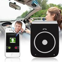 Wholesale best kit cars for sale - Group buy Fm transmitter Bluetooth Car Kit Speaker handsfree phone Mobile phone Cellphone manos libres Car Accessories Best Selling