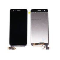 Wholesale Original For LG K8 M210 MS210 Cellphone LCD Display Digitizer Touch Screen Full Assembly Parts Test