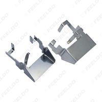 adaptadores de bombilla de xenón hid al por mayor-2x Car H1 HID Xenon Bulb Retainer Clip Adapter para Ford High Bean Bulb Base Holder H1 HID Bulb Holder # 5551