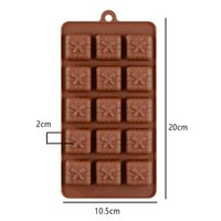 Wholesale silicone moulds for cake decorating resale online - 3D Silicone Mold Holes Gift Box Shape Mould For Soap Candy Chocolate Ice Cake Decorating Tools for Bakeware