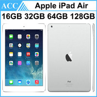 Wholesale manufacturer tablet pc for sale - Group buy Refurbished Original Apple iPad Air iPad WIFI Version GB GB GB GB inch Retina IOS Dual Core A7 Chipset Tablet PC DHL