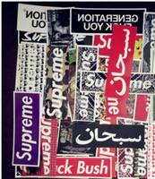 etiqueta de carro de estilos graffiti venda por atacado-33 estilos Estilo Retro Adesivo Graffiti de Viagem Engraçado JDM Adesivos para DIY Etiqueta na Bagagem Mala Laptop Bicicleta Skate Car