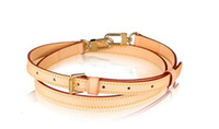Top Grade Bag Part Genuine Calf Leather ADJUSTABLE SHOULDER STRAP 16 MM VVN J52312 Oxidize into Darker Patina Color over time