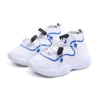 sapatos de escola de bebê venda por atacado-Rapazes Meninas Moda Marca Sneakers crianças em idade escolar Esporte Formadores da criança do bebê criança Big Skate Casual Elegante Designer Shoes