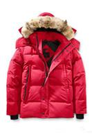 kışlık ceketler unisex parkas toptan satış-2019 En Yepyeni Geliş Erkekler çocukları Wyndham Aşağı Parka Kış Ceket Arctic Parka Lacivert Siyah Yeşil Kırmızı Açık Coat Kapüşonlular