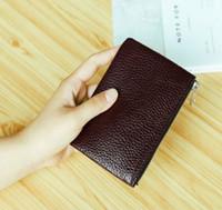 carteras a cuadros para las mujeres al por mayor-Mens 2017 nueva bolsa L envío gratis billetera de alta calidad patrón de tela escocesa mujeres billetera hombres pures lujo de gama alta diseñador s billetera con caja 88