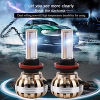 Wholesale car h4 replacement headlight bulb resale online - 120W K C8 lm Car LED Headlight Kit Replacement H1 H4 H7 H8 H9 H11 Car Bulbs Lamps Light Hot Sale HOT