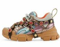 zapatos de escalada al por mayor-2018 Flashtrek Zapatos casuales con cristales extraíbles Mujeres HOMBRES Diseñador Zapatillas de correr Zapatos para escalar montañas Botas de excursionismo al aire libre 88