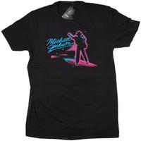 b4220846 Michael jackson T Shirt - On Stage Neon Men Women Unisex Fashion tshirt  Free Shipping Funny Cool Top Tee Black
