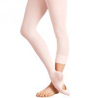 panty erwachsenen großhandel-Erwachsene Frauen Kinder Mädchen Cabrio Fußballett Tanz Socke Panty Weiche Mikrofaser Nahtlose Ballettsocken
