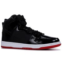 Wholesale running shoes for women for sale - Dunk High Premium SB Running Casual Shoes Black Iridescent Tri Color Obsidian Bred White Widow For Men Women Athletic Sport Sneakers