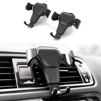 Wholesale mitsubishi mobile phone for sale - Group buy Car styling auto Accessories Air Vent Mount Holder Smartphone Gravity Mobile Phone Bracket For Holden For UAZ Mitsubishi