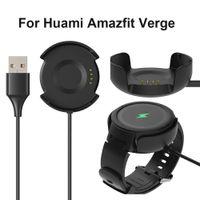 relógio de moda usb venda por atacado-Para huami amazfit verge smart watch substituição usb carregadores doca de carregamento 2018 new arrival fashion