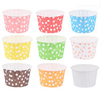 Wholesale baking tray cupcakes for sale - Group buy 48pcs Cupcake Liner Baking Cup Cupcake Paper Muffin Cases Cake Box Cup Egg Tarts Tray Cake Mould Decorating Tools