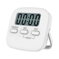 Wholesale count up down timers resale online - Magnetic LCD Digital Kitchen Cooking Timer Count Down Up Clock Magnetic Design Reminder Kitchen Practical Alarm