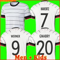 alemanha jersey muller venda por atacado-TOP GERMANY Alemanha 2020 camisa de futebol em casa kit HUMMELS KROOS DRAXLER REUS MULLER GOTZE Copa da Europa camisa de futebol uniformes homens + crianças kit