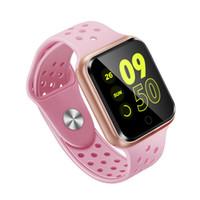 goophone android ips al por mayor-S226 Reloj inteligente Bluetooth 4.0 Monitor de ritmo cardíaco Reloj inteligente para iphone samsung huawei ios teléfono Android PK GT88 DZ09 KW18