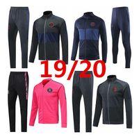 Wholesale pink tracksuit men for sale – designer NEW PSG jacket suit MBAPPE cavani Paris jacket pink tracksuit Winter clothing