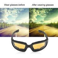 fahrrad-sonnenbrille großhandel-UV400 Schutzbrille Motorrad Bike Riding Protective Sonnenbrille Winddicht Staubdicht Eyes Glass Eyeglasses Protector Eyewear