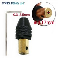 Wholesale mini drill parts resale online - mini TONGFENGLH Electric motor shaft Mini Fixture Clamp mm mm Small To Drill Bit Micro Chuck fixing device