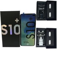 ingrosso dual core phone-Goophone S10 + Goophone S10 Plus 6.0 display HD Face ID WCDMA 3G Quad Core Ram 1 GB ROM 8 GB Android 7.0 fotocamera 8.0 MP telefono SHOW 8 GB 512 GB
