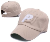 ingrosso q p-Esclusivo design personalizzato Brand Anti Social Social Club 6 Panel non strutturato cappello rosa Lettera P Snapback Caps Q Casquette Snapbacks