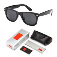 orijinal paket güneş gözlüğü toptan satış-Retro Güneş Gözlüğü Gözlük Moda Marka Güneş gözlükleri Vintage Mens Womens Güneş Gözlüğü Sürüş Aynalı UV400 Orijinal ambalaj kılıf