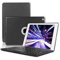 alumínio do carrinho do ipad venda por atacado-Teclado sem fio Bluetooth teclado ultra slim alumínio Carrying Levante Capa para iPad frete grátis Pro 9.7 Air Ar 2 Novo Ipad