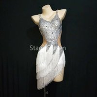 Wholesale dancewear costumes sequin for girls for sale - Group buy Custom Adult Latin Ballroom Dresses Costume Dance Latine For Women Girls Salsa Performance Latin Dresses Dancewear Competition Latin Dance