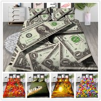 Wholesale beautiful kids beds for sale - Group buy Beautiful scenery series Bedding Set Twin Full Queen Size with pillowcase Duvet Cover Set for adult kids of Quilt Cover Set
