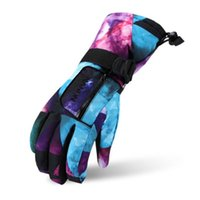 gants blancs garçons achat en gros de-Hiver Chaud Snowboarding Gants De Ski hommes femmes Enfants Snow Mittens Coupe-vent imperméable À Ski Ski Motoneige XS S M L XL