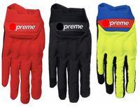 guantes de moto verdes al por mayor-2019 Nuevos guantes de trabajo Sup Racing Red Moto Gloves Nuevo SS18 Nuevo RED BLACK Guante de ciclismo verde