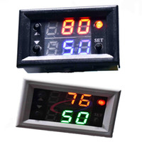 verzögerungsrelaismodul großhandel-DC 12 V Dual Display Zeitrelais Modul Zeitverzögerungsrelais Mini LED Digital Timer Timing Verzögerung Zyklus Steuerschalter nach hause