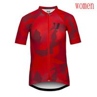 team road ciclismo camisetas mujeres al por mayor-2019 VOID Team Summer Women Cycling Jersey Bicicleta de carretera MTB Camisa de bicicleta Maillot Ciclismo ropa deportiva de manga corta Y040901
