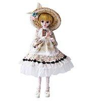 muñeca bjd princesa al por mayor-BJD Doll SD Doll 60 cm / 24 pulgadas Princesa Novia para niña Regalo y muñecas Colección Interés juguetes para niños Jouets pour enfants # g11