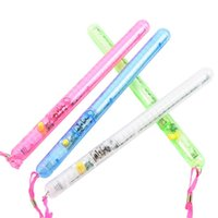 Wholesale stick toys online - Party Popular LED Light Sticks Men And Women Fashion Colorful Energy Saving Eco Friendly Luminescent Stick Firm Large New Arrival wl I1
