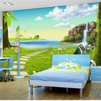 Wholesale natural fiber insulation resale online - custom size photo wallpaper d wall mural living room kids room natural scenery d picture sofa backdrop wallpaper mural non woven sticker