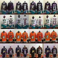 Wholesale 36 jersey for sale - Group buy Anaheim Ducks jerseys Teemu Selanne Paul Kariya Ryan Getzlaf Ryan Kesler John Gibson Charlie Conway hockey jersey