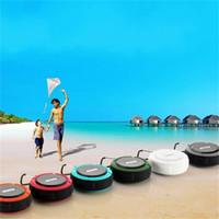 ses kutusu radyo toptan satış-Kablosuz Ses Kutusu Mini Küçük Ses Bluetooth Hoparlör Fm Radyo Açık Çok Renkli Su Geçirmez Taşınabilir 14cxf1