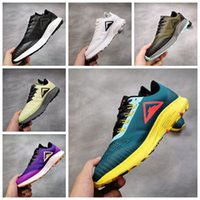 Wholesale luminous basketball shoes resale online - 2019 New Pegasus Trail Turbo Luminous Green Pink Blue Mens Running Shoes For Men Womens Sports zoom Designer sneakers Trainers Size