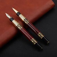 stylos vintage achat en gros de-Vintage stylo à bille grain de bois entreprise signature stylo en métal MB stylo pour femme homme cadeaux fournitures de bureau
