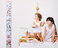 decoraciones de pies de bebé al por mayor-6 estilos altura de los niños colgante de pared regla creativo DIY decoración de la habitación pinturas bebé altura pies decoración de la pared L175