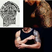 tatuagem de moda temporária impermeável venda por atacado-Nova Moda Removível À Prova D 'Água Etiqueta Do Tatuagem Temporária Ombro Do Braço Body Art Sticker Moda Tatuagens Body Art