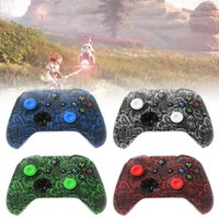 Wholesale xbox one joystick for sale - Group buy For Xbox One S X Controller Case Soft Silicone Cases Comfortable Gamepad Skin Printing Rubber Joystick Cover Analog Caps