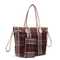 sacola velha venda por atacado-Old Sapateiro Nunca Fu ll versão Atualizada Cosmetic Bag bolsa clássica de alta qualidade revestido de lona bolsa de ombro único moda mãe sacos