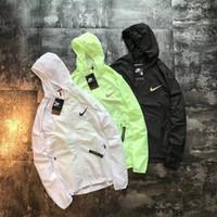 erkekler yüksek yaka toptan satış-Avrupa Amerikan erkek ceketler retro moda spor tasarımcısı ceket gevşek yüksek kaliteli ithal metal naylon streetwear Giyim